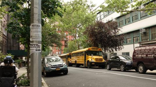 Yellow school bus - how iconic!